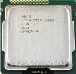 Процессор Intel core i5 2400 4x3.1 GHz 6mb cache s1155