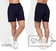 Модные молодёжные шорты из льна батал  с 48 по 54 размер, фото 2