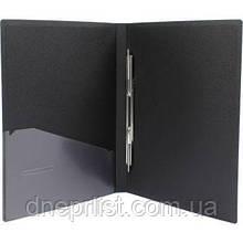 Папка-скоросшиватель с карманом А4, 2 см, Economix CLIP A, черная