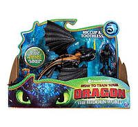 Дракон беззубик и всадник виккинг Иккинг Dragons Toothless