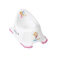 Горшок Tega Little Princess LP-001 нескользящий 103 white