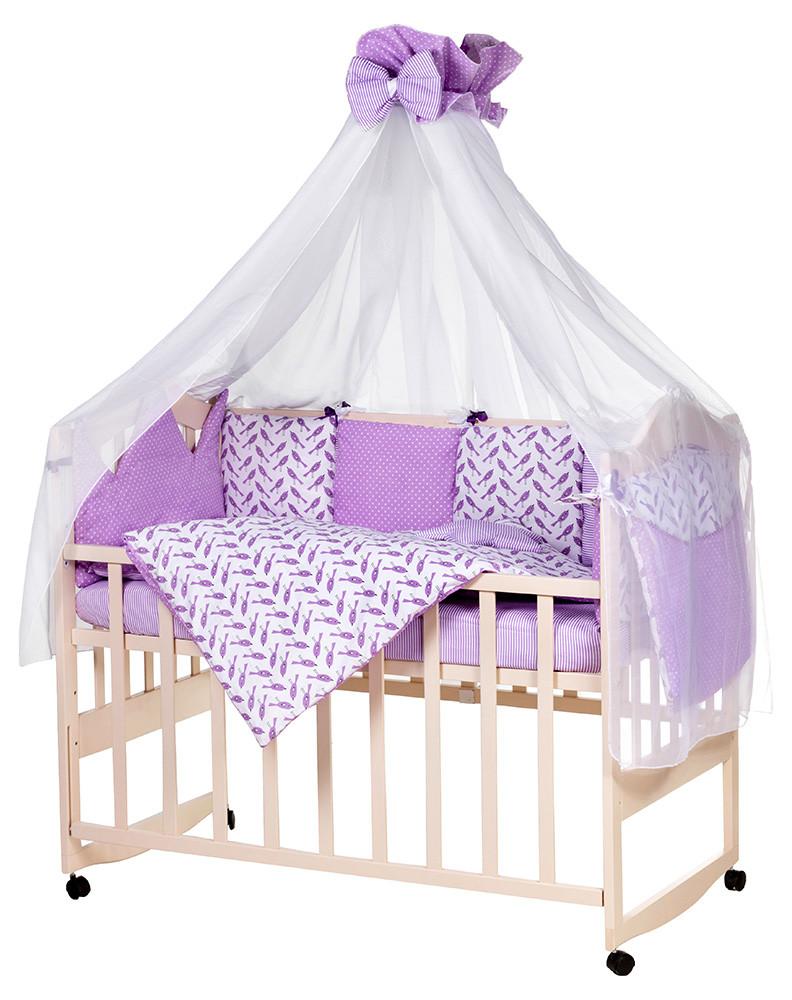 Детская постель Babyroom Bortiki lux-08 bird
