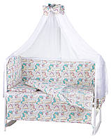 Детская постель Babyroom Comfort-08 белый, фото 1