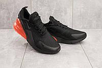 Кроссовки А 358 -21 (Nike AirMax 270) (весна/осень, мужские, текстиль, черный)