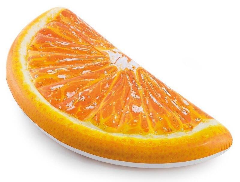 Надувной плот Апельсин Intex, 178x85 см.