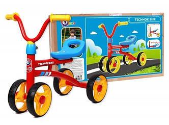 Детский Байк металлический 4326 Технок толокар велосипед без педалей