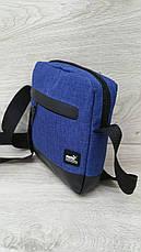 Мужская сумка барсетка nike спортивная через плечо мессенджер, фото 3