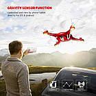 Квадрокоптер SYMA X5UW FPV 720P HD Wi-Fi камера + Видеокарта + бонус-батарея Красный, фото 6