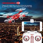 Квадрокоптер SYMA X5UW FPV 720P HD Wi-Fi камера + Видеокарта + бонус-батарея Красный, фото 9