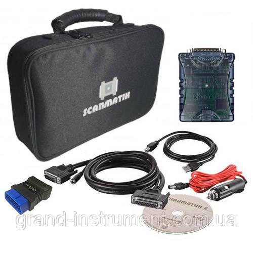 Сканер Сканматик 2 PRO в СУМКЕ базовый комплект  для USB и Bluetooth соединения с ПК/КПК