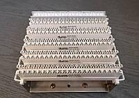 Набор плинтов ZKM 100U1-RZ-VP020-ТО-1 из монтажного хомута и 5-ти 20-парных размыкаемых врезных плинтов , фото 1