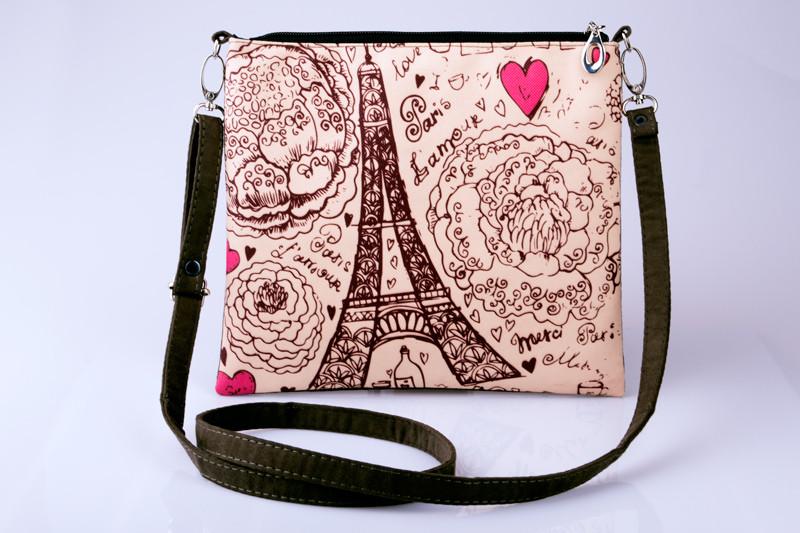 Клатч женский Отпуск в Париже