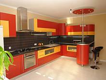 Кухни - фасад МДФ - радиус