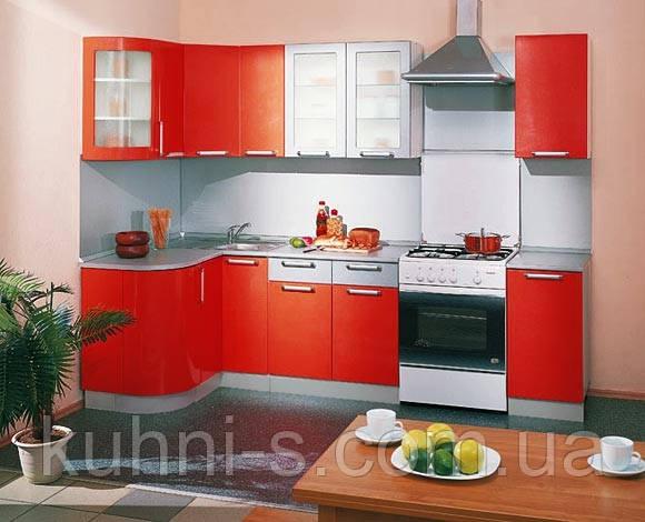 Кухня - фасад МДФ ламинированный - радиусный