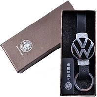 """Электронная USB Зажигалка-брелок """"Wolkswagen"""" №310035 Silver - практичный и функциональный подарок"""