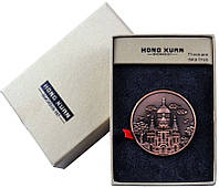 Электронная USB Зажигалка Монета № 310012  - удобство в пользовании, необычная форма