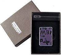 Карманная USB Зажигалка №310022 - удобный аксессуар, небольшие габариты, долговечность