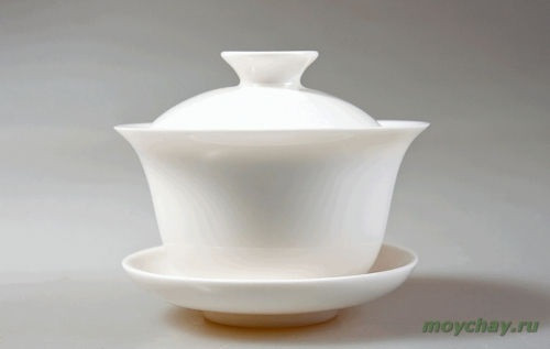 Гайвань, белый фарфор