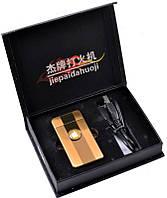 """Электроимпульсовая USB зажигалка Gold """"Apple"""" №310934 -  удобный девайс  для любителей культовой электроники"""