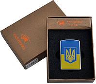 """Электронная USB зажигалка №310948 """"Прапор и Тризуб"""" - для настоящих патриотов"""