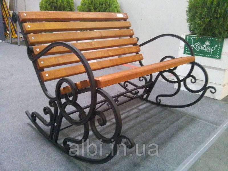 Кресло-качалка кованое 1,5м