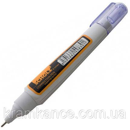 Корректор-ручка Scholz 4983 8мл метал. клапан, фото 2