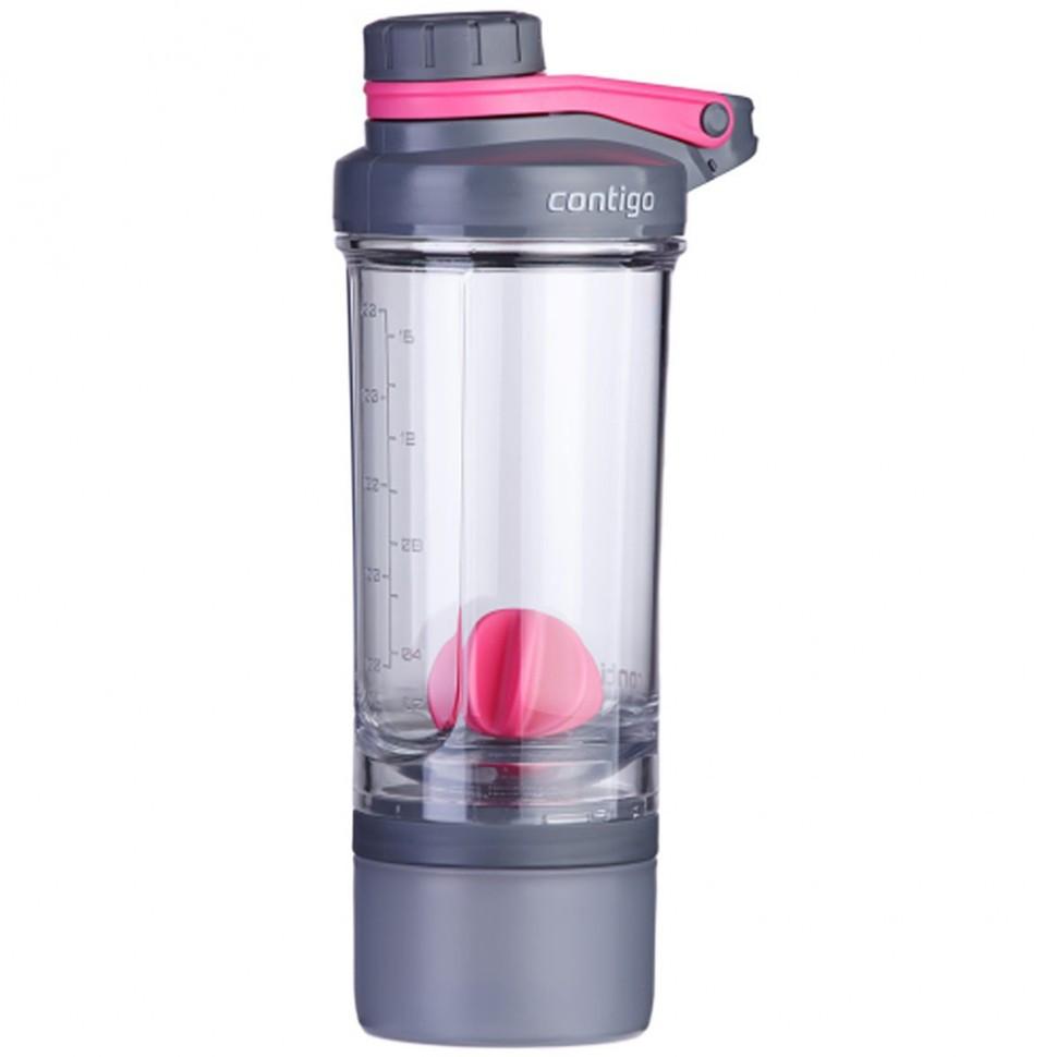 Шейкер Сontigo Shake & Go Fit Compartment 650 мл Розовый (1000-0647)