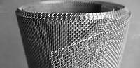 Сетка тканная яч 0,14х0,14 мм, толщина 0,09мм, из нержавеющей стали