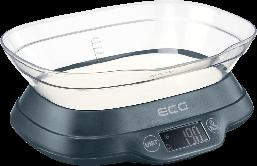 Кухонные весы ECG KV 1120 SM  до 5 кг серый
