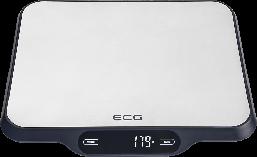 Весы кухонные ECG KV 215 S  до 15 кг серебристый