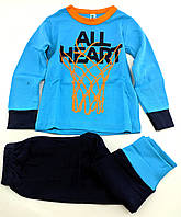 Пижама детская 2 года для мальчика Турция детские пижамы хорошего качества с принтом хлопок