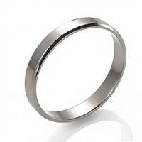 Золотое обручальное кольцо(европейка), ОК015.3Бев