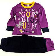 Пижама детская 1 2 3 и 4 года Турция для девочки детские пижамы