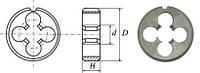 """Плашка трубная для цилиндрической резьбы G1/2"""""""