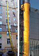 Мусоросброс строительный пластиковый 42 (м), фото 1