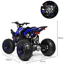 Квадроцикл Profi HB-EATV синий 1000Q2-4, фото 3
