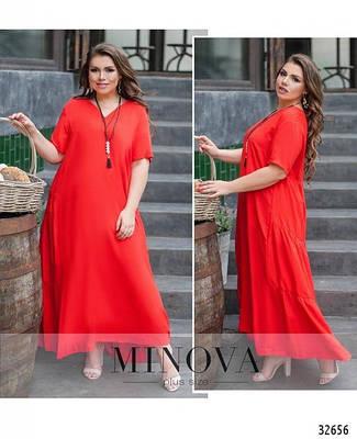Летнее платья больших размеров от ТМ Міnova
