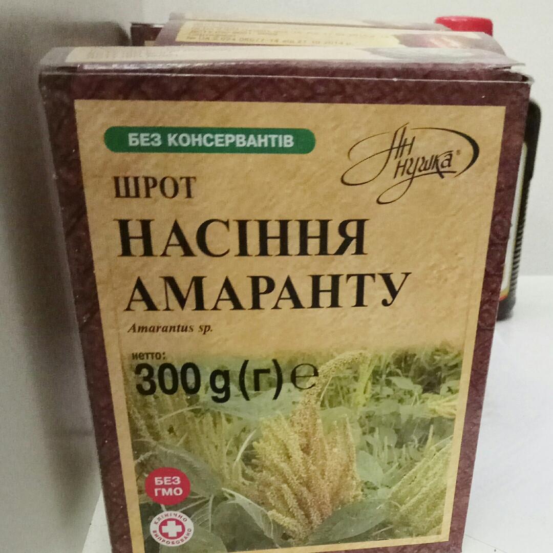 Шрот семян амаранта Аннушка, 300 г
