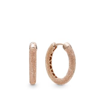 Серьги-кольца «Матовое сияние»