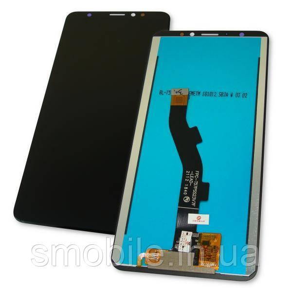 Meizu Дисплей Meizu M8 (M813H) / V8 + сенсор черный (оригинал Китай)
