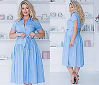 """Платье больших размеров """" Коттон """" Dress Code, фото 1"""