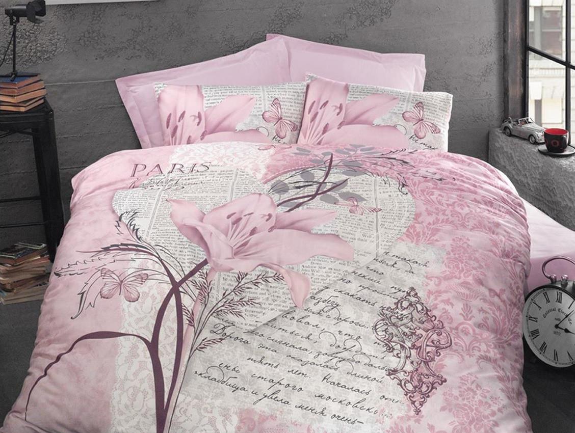 Постельное белье Arte Bella Luoca Patisca розовый полуторный