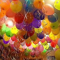 Повітряні кульки з гелієм у Вінниці від магазину Аладдін