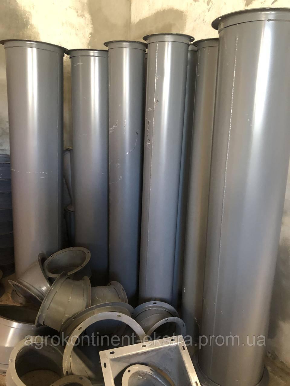 Самотечные трубы на элеваторе транспортер винтовой размеры