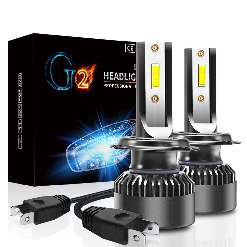 Лампа светодиодная для фар G2 MINI LED  H7 6000 Lum, цвет свечения 6000К, 2 шт/компл.