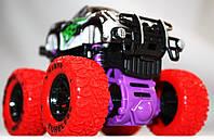 Детская инерционная машинка А12-21, серо-красная, фото 1