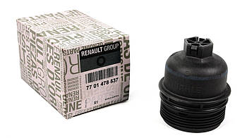 Крышка фильтра масляного Renault Trafic 2.0dCi (M9R)/ Master 2.3CDTi (M9T) (7701478537) RENAULT