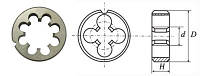 Плашка круглая М5х0,8