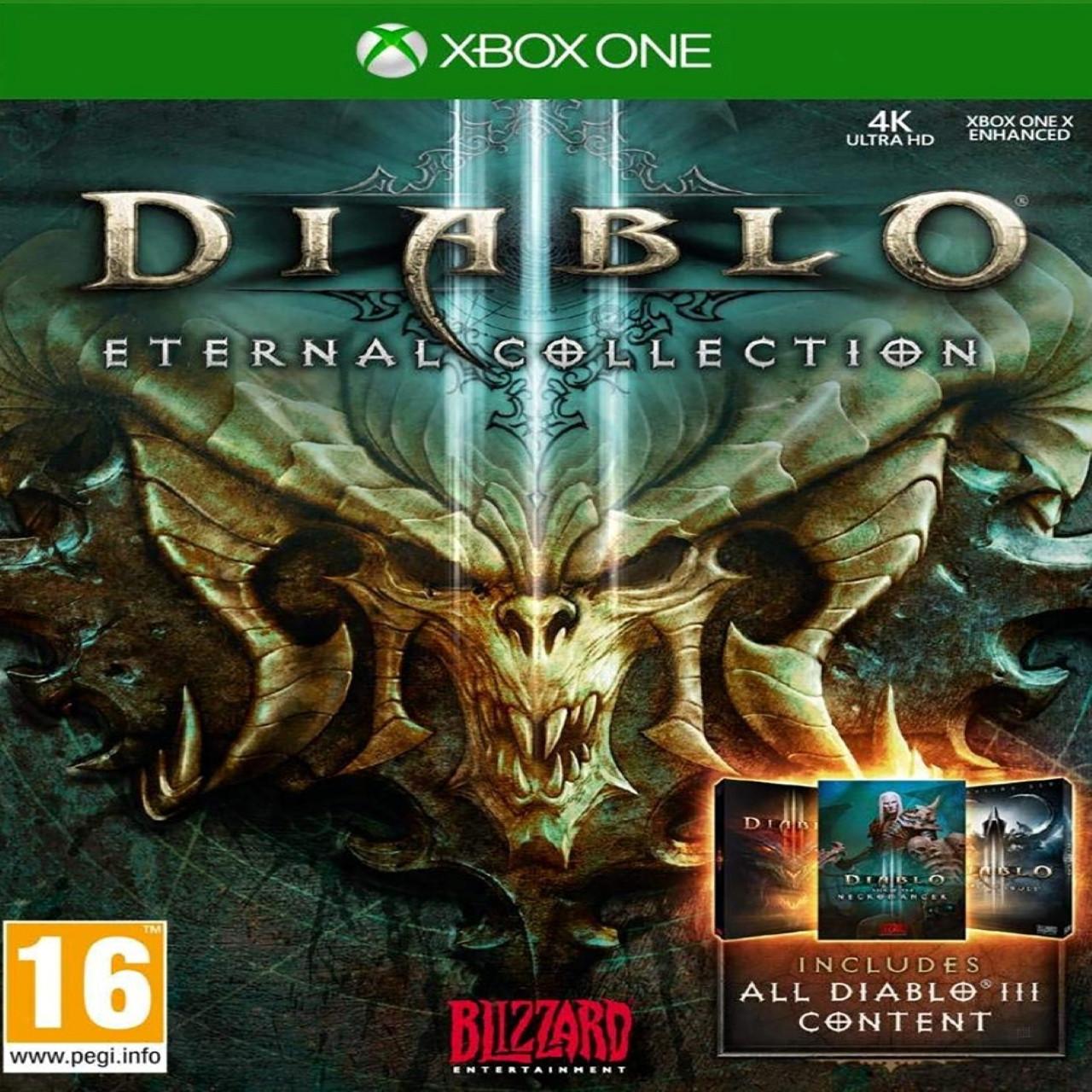 Diablo 3 Eternal Collection RUS XBOX ONE (NEW)
