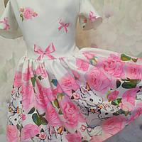Детское платье для девочки Единорог, фото 1